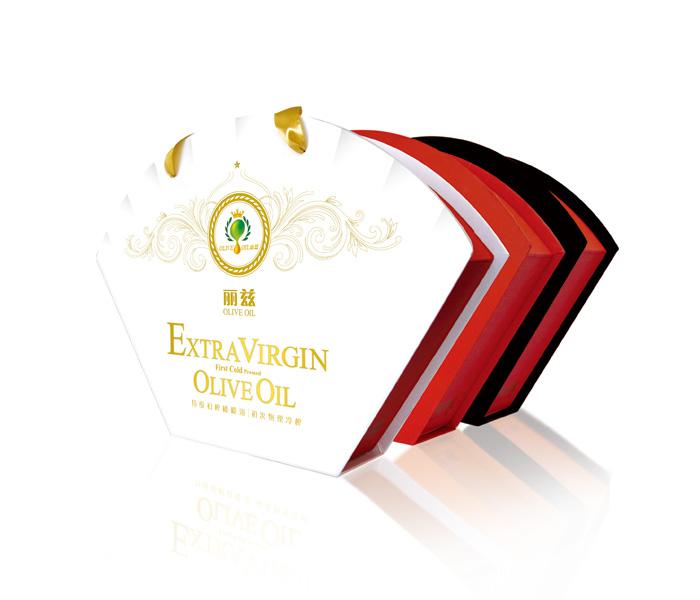 西班牙丽兹牌橄榄油扇形礼盒装